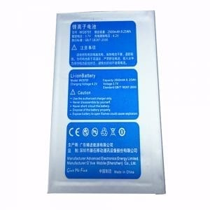 New original battery WG5701 for GFIVE G9