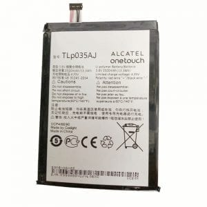 New original battery TLP035AJ for Alcatel onetouch N1 MAX