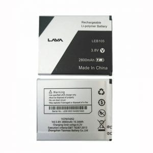New original battery for Lava LEB105