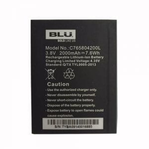 New original battery for BLU C765804200L